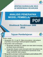 Analisis Penerapan Model Pembelajaran.pptx