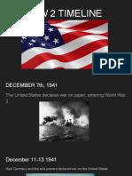 ww ii timeline and images on 10 slides - austin williams