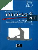 Zborowski a - 5. Masaż w Wybranych Jednostkach Chorobowych II