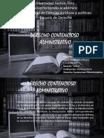 Linea Del Tiempo. Derecho Contencioso Administrativo