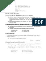 contoh Minit Mesyuarat Agung PIBG 2017 (Kali Ke 22)