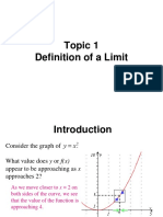 Power Point - Limits