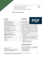 Chronic Venous Disorders Classification
