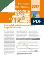 El estado de la seguridad alimentaria y nutrición en el mundo