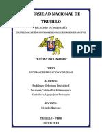 FUNDAMENTO TEORICO CAIDAS VERTICALES