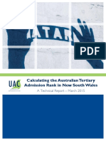 ATAR Technical Report