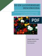 Buceando en La Diversidad Desconocida Una Guia Para Terapeutas de Pacientes Con Intersexualidades - Melero Puche