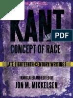 Kant, Immanuel - Late 18th-Century Writings on Race [Mikkelsen, Ed.] (SUNY, 2013)