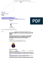 Concurso Marinha - Concurso Marinha_ Inscrições Abertas Para 456 Vagas _ JC Concursos
