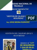 GESTION DE CALIDAD (ISO) Y SEGURIDAD