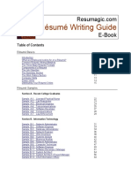 Resumagic Resume Writing Guide