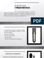 MICROFONO ELECTROSTATICO
