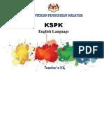 06 Teachers Kit Scheme of Work English Language Component