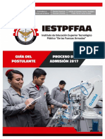 Guía Del Postulante Iestpffaa2017