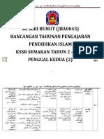 Rpt Pend Islam Th 2 Penggal 2 by Sk Seri Bunut