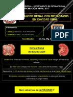 """Cáncer de Riñón con Metástasis en Cavidad Oral - Revista de Revistas ( Hospital Militar Central """" Luis Arias Schreiber """" )"""