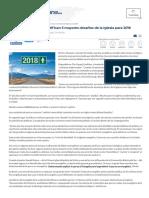 Líderes Evangélicos Identifican 5 Mayores Desafíos de La Iglesia Para 2018 _ Noticias Cristianas Evangélicas