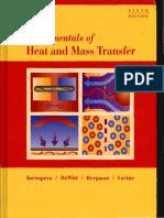 Fundamentals of Heat and Mass Transfer - Frank Incropera