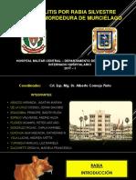 Encefalitis Por Rabia Silvestre - 2ª Intersedes Hospital Militar Central