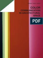Color en La Comuniccion Arquitectonica