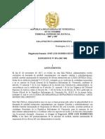 Medida Cautelar Arco Minero Del Orinoco