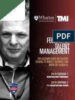 Global Fellow Program in Talent Management | Wharton Fellowship Program | TMI