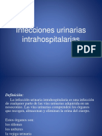 Infecciones Urinarias Intrahospitalarias Power Point