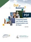 Public to Private Sector Compensation April 2010