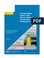 Occupational Safety Healthe Aspects of Leather Manufacture