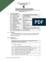 Silabo Investigación III Foy 2017 2s