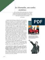 A Grande Alemanha - Um Sonho Esoterico