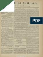 Bandera Social. 26-7-1885