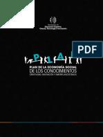 Plan de La Economía Social de Los Conocimientos