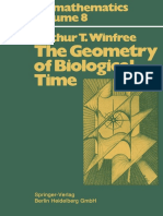 Biomathematics Arthur T. Winfree Auth. the Geometry of Biological Time Springer Berlin Heidelberg 1980 1