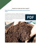 Qué Es El Compost Con Base de Tierra Negra