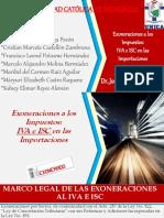 Exoneraciones Nicaragua