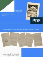 normal schools