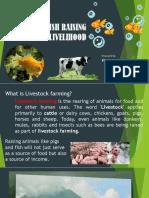 Animal and Fish Raising for Livelihood