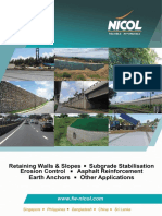 FW NICOL Geotechnical Brochure
