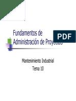 10.- Fundamentos de Project Management
