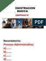 Administracion Basica -Cap- 4