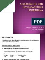 Kf_3_stoikiometri Dan Hitungan Kimia Sederhana