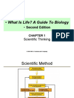 What is life? A guide to biology 2nd edition Chapter 1