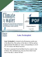Climatewate Techirghiol Mtg FP7 11April2009