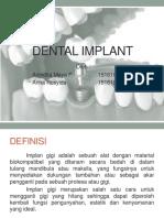 Dental Implant SA IBTKG 2 (Anindita M. 15-65 Dan Arina R. 15-71)