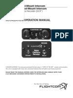 FlightCom 403 Manual