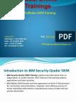 IBM QRadar SIEM Training