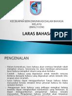 Bahasa Melayu Laras Bahasa