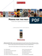 Madrid for the First Time v1.1 2017
