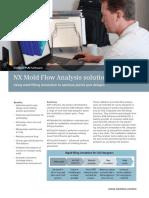 NX Mold Flow Analysis